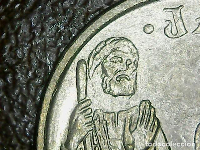 * ERROR * RARISIMO 5 PESETAS AÑO 1993 APOSTOL SIN CUELLO (Numismática - España Modernas y Contemporáneas - Variedades y Errores)