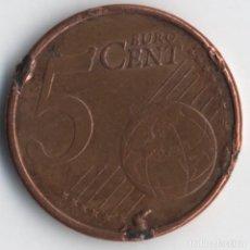 Monedas con errores: ESPAÑA 5 CÉNTIMOS 2008 MÚLTIPLES ERRORES/VARIANTES. Lote 117968295