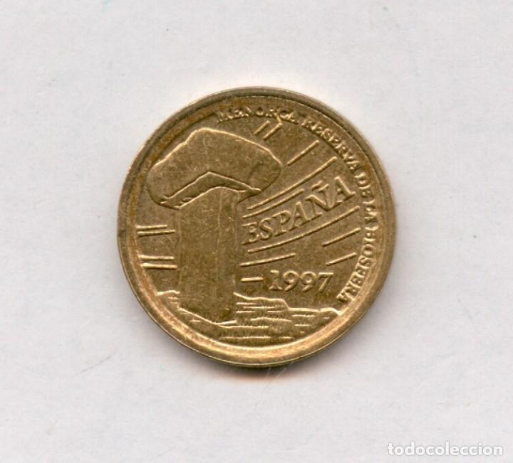 Monedas con errores: * ERROR * 5 PESETAS AÑO 1997 LISTEL GRUESO ANVERSO Y REVERSO Y LEYENDA PEGADA AL LISTEL - Foto 2 - 118122482