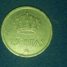 Coins with Errors - MONEDA 25 PESETAS 1975 JUAN CARLOS I ERROR LISTEL IRREGULAR. IMPORTANTE LEER - 118485095