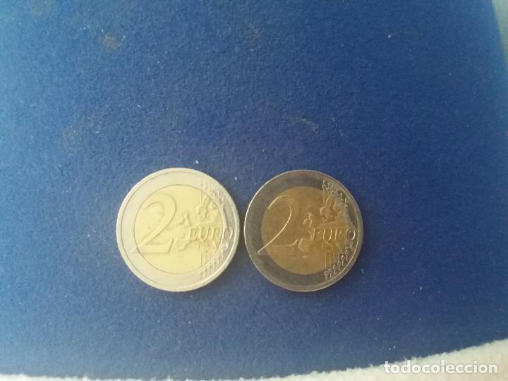 Monedas con errores: BONITA MONEDA 2 EUROS ESLOVAQUIA 2009 CRUZ DOBLE TRAVESAÑO ERROR IMPRESION COLOR. IMPORTANTE LEER - Foto 3 - 118536567