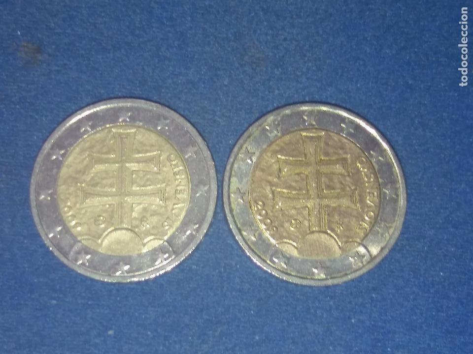 Monedas con errores: BONITA MONEDA 2 EUROS ESLOVAQUIA 2009 CRUZ DOBLE TRAVESAÑO ERROR IMPRESION COLOR. IMPORTANTE LEER - Foto 5 - 118536567