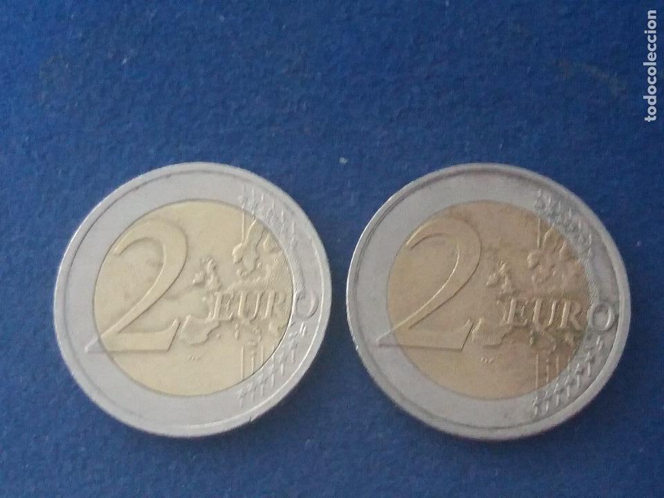 Monedas con errores: BONITA MONEDA 2 EUROS ESLOVAQUIA 2009 CRUZ DOBLE TRAVESAÑO ERROR IMPRESION COLOR. IMPORTANTE LEER - Foto 6 - 118536567