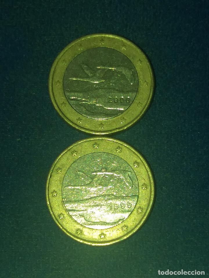 Monedas con errores: MONEDA 1 EURO FINLANDIA 2000 GANSOS SALVAJES ERROR ACUÑACIÓN EXCESO METAL. IMPORTANTE LEER - Foto 4 - 118538167