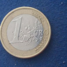 Monedas con errores: MONEDA 1 EURO GRECIA 2002 LECHUZA ERROR LAMINACIÓN. IMPORTANTE LEER. Lote 118539551