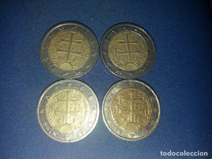Monedas con errores: BONITA MONEDA 2 EUROS ESLOVAQUIA 2009 CRUZ DOBLE TRAVESAÑO ERROR IMPRESION COLOR. IMPORTANTE LEER - Foto 7 - 118536567