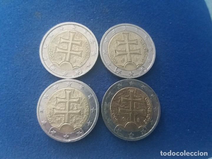 Monedas con errores: BONITA MONEDA 2 EUROS ESLOVAQUIA 2009 CRUZ DOBLE TRAVESAÑO ERROR IMPRESION COLOR. IMPORTANTE LEER - Foto 8 - 118536567