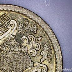 Monedas con errores: ESTADO ESPAÑOL 1 PESETAS 1966 *75 PERLAS JUNTAS SEPARADAS GARNDES PEQUENAS SC DE CARTUCHO. Lote 120046475