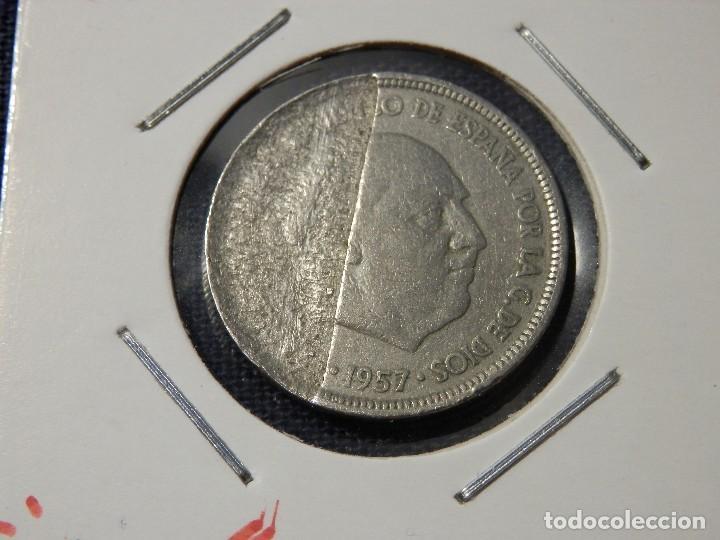 7 Variante Error 5 Pesetas 1957 Hoja Me Comprar Monedas