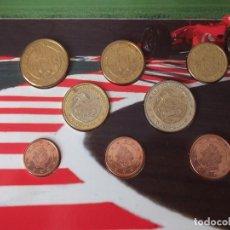 Monedas con errores: CARTERA ( EUROS PRUEBA) GRAND PRIX DE MONACO 2004 CON ERROR EN EL EURO ( ERROR UNICO ). Lote 122759543