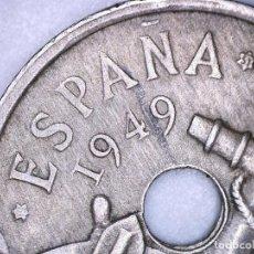 Monedas con errores: FRANCO 50 CÉNTIMOS 1949 *19*51 SC ESTRELLA 19 - RAYOS DE SOL. Lote 122834519