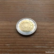 Monedas con errores: MONEDA ESPAÑA 2 EUROS CONMEMORATIVA 2015 RARA ERROR ACUÑACIÓN FALTAN 2 ESTRELLAS. Lote 123508927