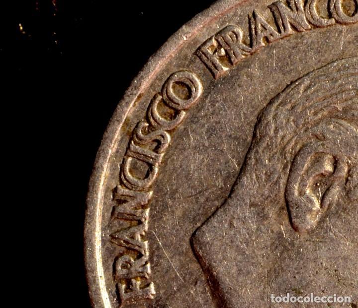 Monedas con errores: 10 CÉNTIMOS DE 1959: NOTABLE REMARCACIÓN DE LAS LEYENDAS DEL ANVERSO (REF. 642) - Foto 3 - 126513319