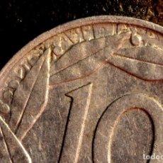 Monedas con errores: MONEDA DE 10 CÉNTIMOS DE 1959: BONITOS REPINTES EN ANVERSO Y REVERSO (REF. 643). Lote 126513451