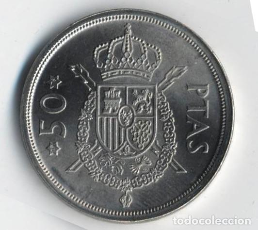 Monedas con errores: ESPAÑA JUAN CARLOS I 50 PESETAS 1975*19*76 SIN CIRCULAR ERRORES MÚLTIPLES LISTEL/CUÑO IMÁGENES - Foto 6 - 127812715