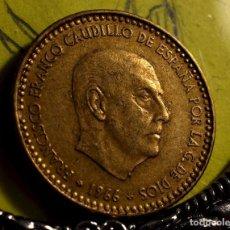 Monedas con errores: PESETA DE 1966*75: ERRORES EN EL ANVERSO Y EN EL REVERSO (REF. 652). Lote 128135195