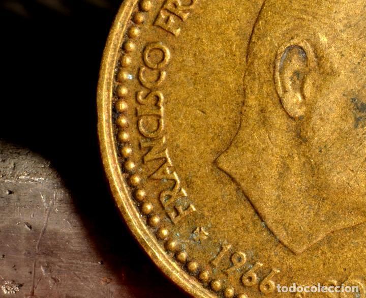 PESETA DE 1966*67: PEQUEÑOS ERRORES (REF. 665) (Numismática - España Modernas y Contemporáneas - Variedades y Errores)