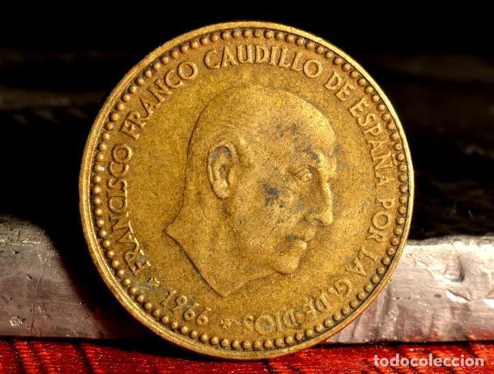 Monedas con errores: PESETA DE 1966*67: PEQUEÑOS ERRORES (REF. 665) - Foto 2 - 128856095