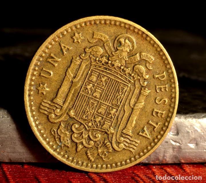 Monedas con errores: PESETA DE 1966*67: PEQUEÑOS ERRORES (REF. 665) - Foto 4 - 128856095