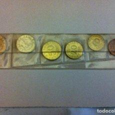 Monedas con errores: SERIE CHURRIANA - PRUEBAS DE EUROS - 1998. Lote 131792166