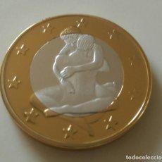 Monedas con errores: NOVEDAD: MONEDA SEX EUROS. Lote 132342310