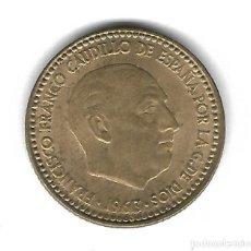 Monedas con errores: MONEDA. 1 PESETA. FRANCISCO FRANCO. 1963. ESTRELLA 64. ERROR: ID. MAS ACUSADOS. VER. Lote 135193602