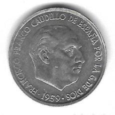 Monedas con errores: MONEDA. 10 CENTIMOS. 1959. FRANCISCO FRANCO. ERROR: REPINTES DESPLAZADOS ANVERSO/REVERSO. RARA. VER. Lote 135200314