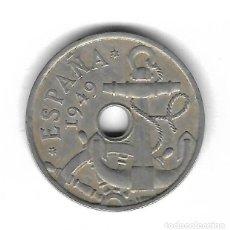 Monedas con errores: MONEDA. 50 CENTIMOS. 1949. ESPAÑA. ESTRELLA 51. ERROR: PERFORACION MAS PEQUEÑA. VER. Lote 135201898