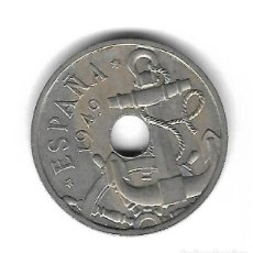 Monedas con errores: MONEDA. 50 CENTIMOS. 1949. ESPAÑA. ESTRELLA 51. ERROR: FLECHAS INVERTIDAS. VER. Lote 135202642