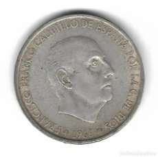 Monedas con errores: MONEDA. 100 PESETAS. 1966. FRANCISCO FRANCO. ESTRELLA 67. ERROR: DOBLE PERFIL (VICENTI 319A). VER. Lote 135287774