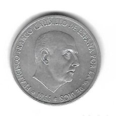 Monedas con errores: MONEDA. 50 CENTIMOS. 1966. FRANCISCO FRANCO. ESTRELLA 68. ERROR: GIRADA 60º. VER. Lote 135291398