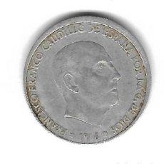 Monedas con errores: MONEDA. 50 CENTIMOS. 1966. FRANCISCO FRANCO. ESTRELLA 68. ERROR: LIGERAMENTE DESCENTRADA. VER. Lote 135291530
