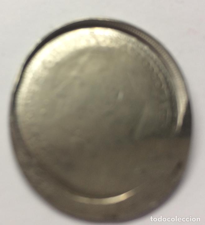 Monedas con errores: ESPAÑA ESTADO ESPAÑOL&JUAN CARLOS I - 5 PESETAS -ERROR/MANIPULACIÓN- - Foto 3 - 136822762