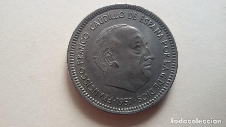 50 PTS DE FRANCO FALSA (Numismática - España Modernas y Contemporáneas - Variedades y Errores)