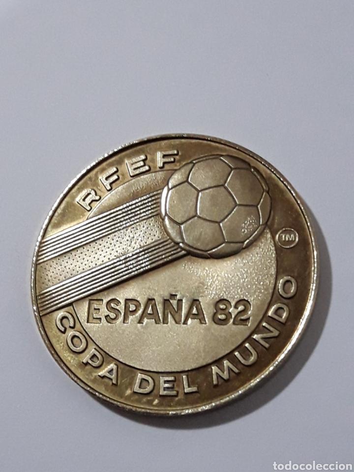MONEDA COPA DEL MUNDO ESPAÑA 82 (Numismática - España Modernas y Contemporáneas - Variedades y Errores)