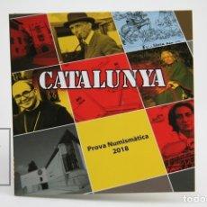 Monnaies avec erreurs: CARTERA CON 8 PRUEBAS NUMISMÀTICAS DE CATALUÑA / CATALUNYA 2018. Lote 143405056