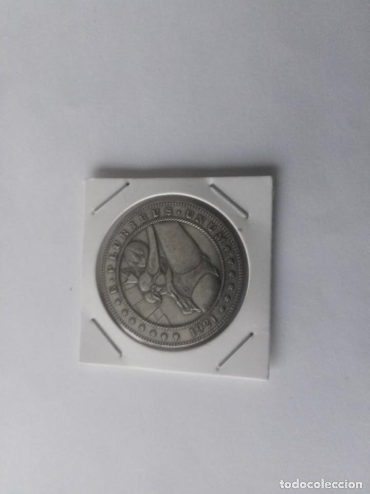 MONEDA DE 1 DÓLAR HOBO (CHICA) (Numismática - España Modernas y Contemporáneas - Variedades y Errores)