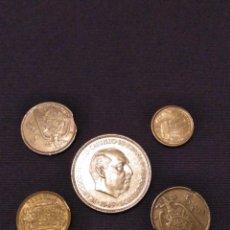 Monedas con errores: EXTRAORDINARIO LOTE ERRORES (5 MONEDAS). LEER DESCRIPCIÓN,VER FOTOS. Lote 147540854
