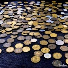 Monedas con errores: HIPER LOTE COLECCIÓN DE 490 MONEDAS CON PEQUEÑOS ERRORES. Lote 147594854