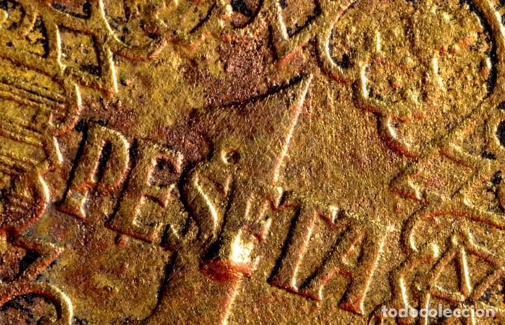 Monedas con errores: NOTABLES ERRORES EN PESETA CIRCULADA DE 1944 (REF. 690) - Foto 3 - 151637814