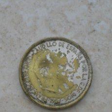 Monedas con errores: MONEDA DEL ESTADO ESPAÑOL. 50 PESETAS.1957.FALSA DE ÉPOCA.FABRICADA EN BRONCE NIQUELADO.. Lote 153128238