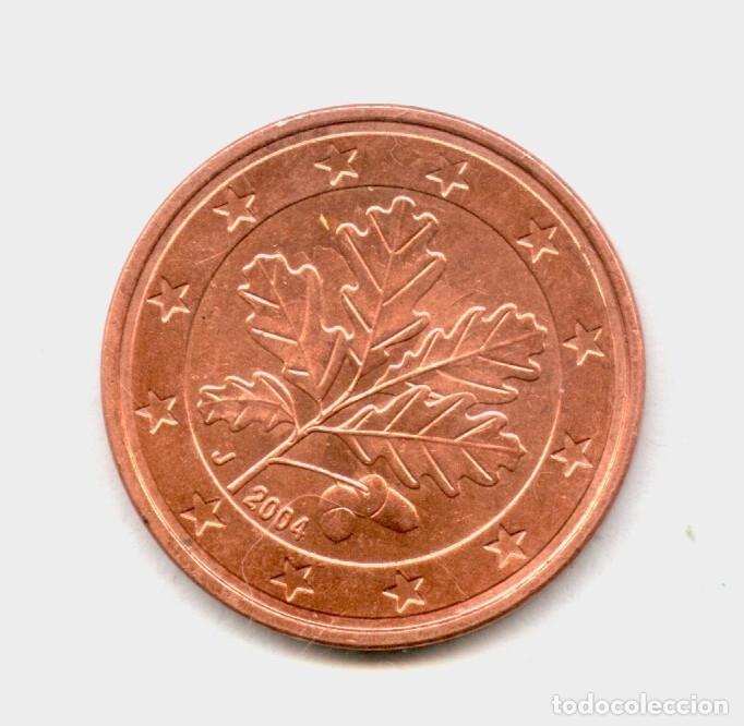 Monedas con errores: * ERROR INEDITO * 5 CENT ALEMANIA DOBLE HINCADO - Foto 2 - 156594116
