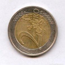 Monedas con errores: * ERROR ESPECTACULAR * 2 EURO FRANCIA AÑO 1999 GIRADOS 90º. Lote 157887980