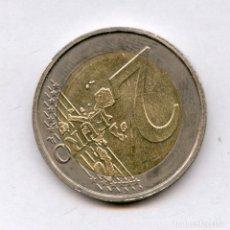 Monedas con errores: * ERROR MUY ESCASO * 2 EURO BELGICA AÑO 2006 REVERSO GIRADO 135º. Lote 157888390
