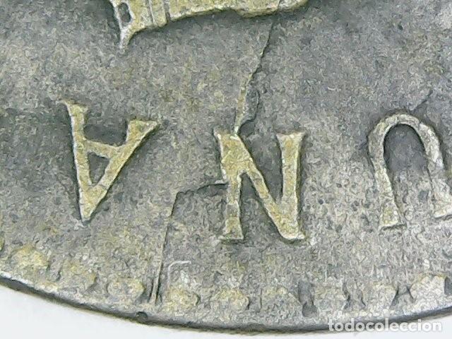Monedas con errores: * ERROR MUY ESCASO * 1 PESETA 1953-56 CUÑO PARTIDO VARIOS Y ANVERSO LIGERAMENTE DESPLAZADO - Foto 5 - 158387078