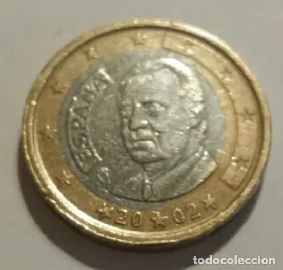 HUEVO FRIRO ERROR EURO ESPAÑA (Numismática - España Modernas y Contemporáneas - Variedades y Errores)