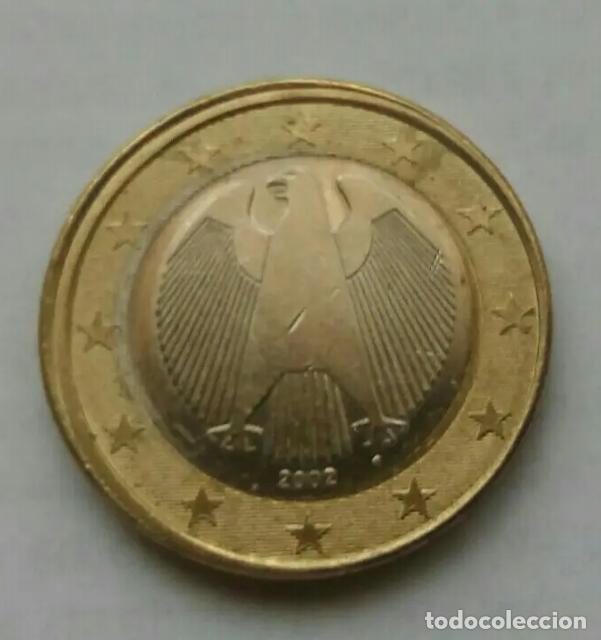ERROR 1 EURO ALEMANIA (Numismática - España Modernas y Contemporáneas - Variedades y Errores)