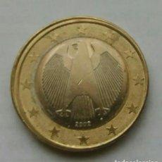 Monedas con errores: ERROR 1 EURO ALEMANIA. Lote 158886986