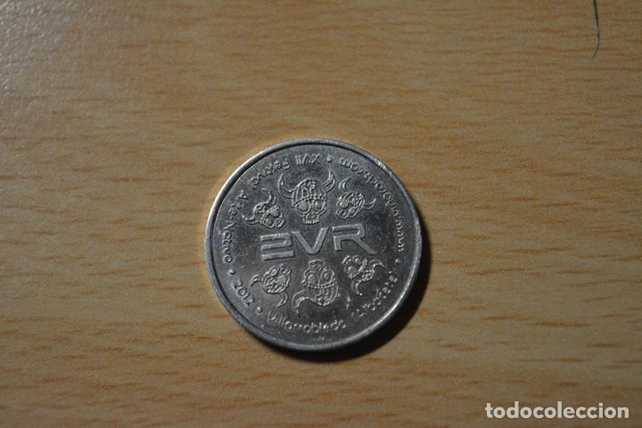 TOKEN.XVII FESTIVAL ARTE NATIVO 2012 VILLARROBLEDO (Numismática - España Modernas y Contemporáneas - Variedades y Errores)