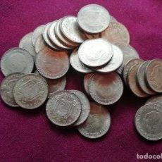 Monete con errori: LOTE DE 36 MONEDAS DE PESETA DE 1953 NUEVAS SC SIN ESTRELLA ACUÑADA. Lote 163507502